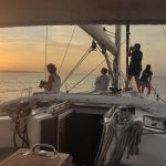 Social distance on our boat